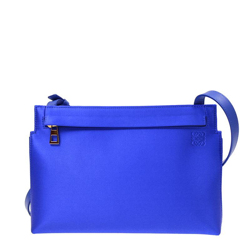 VIP STATION-全新 LOEWE 羅意威 手袋 126.68.N77 5560 絨布 藍色
