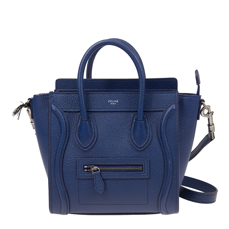 VIP STATION-全新 CELINE 賽琳 手袋 18924 3DRU 07DI 牛皮 藍色