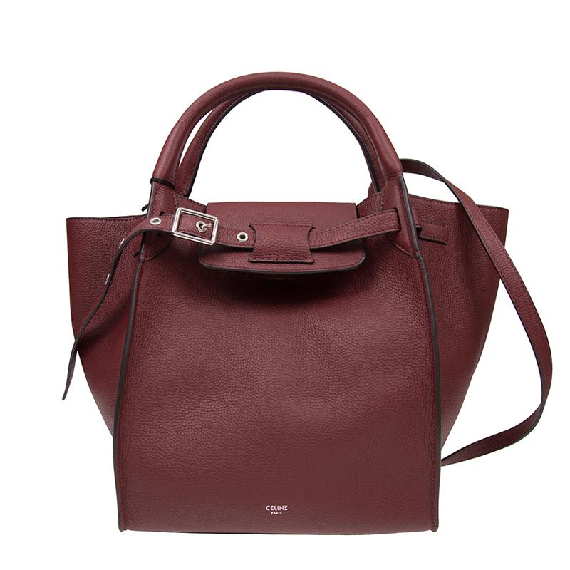 VIP STATION-全新 CELINE 賽琳 手袋 小型 BIG BAG 18931 3A4U 28LB 牛皮 紅色