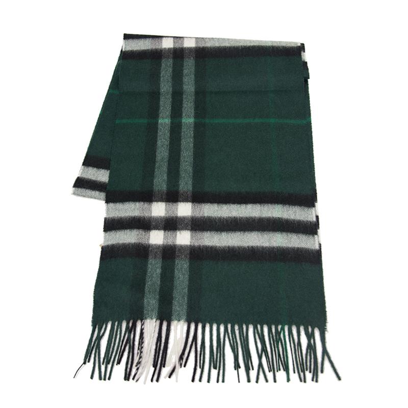 VIP STATION-全新 BURBERRY 博柏利 頸巾 3994117 羊毛 綠色