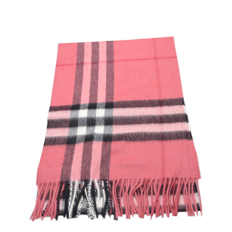 VIP STATION-全新 BURBERRY 博柏利 頸巾 3994132 羊毛 紅色