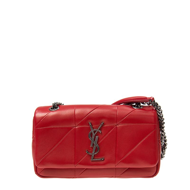 VIP STATION-全新 YSL / SAINT LAURENT 聖羅蘭 手袋 515820 COP64 6805 羊皮 紅色