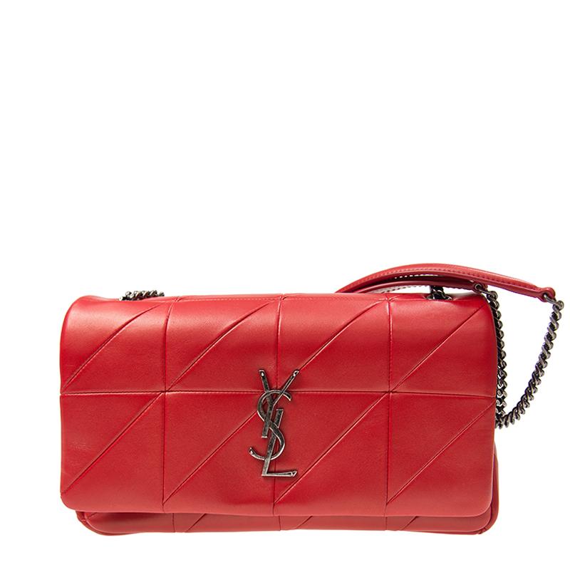 VIP STATION-全新 YSL / SAINT LAURENT 聖羅蘭 手袋 515821 COP64 6805 羊皮 紅色