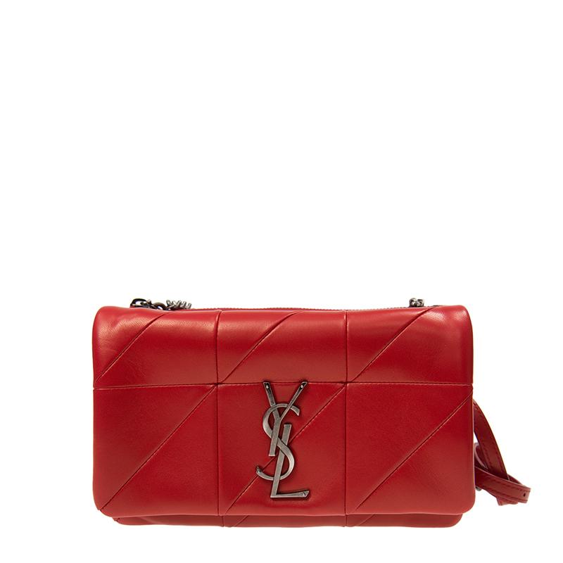 VIP STATION-全新 YSL / SAINT LAURENT 聖羅蘭 手袋 517614 COP64 6805 羊皮 紅色