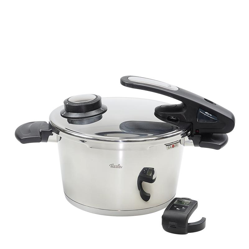 VIP STATION-全新  FISSLER 廚具 630-300-04-070 VITAVIT EDITION 高壓鍋 不鏽鋼 銀色