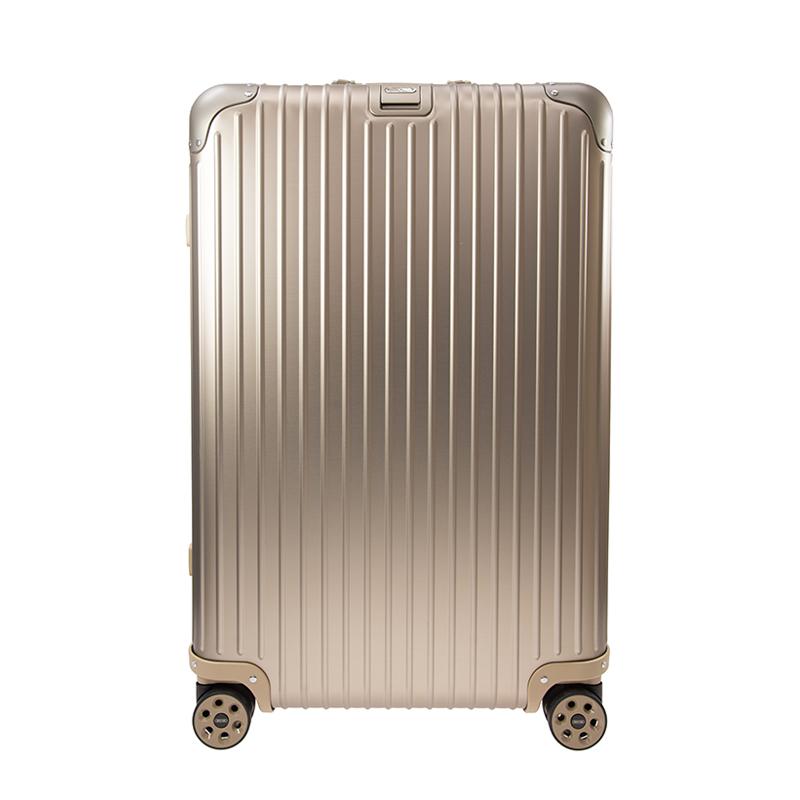 VIP STATION-全新 RIMOWA 日默瓦 旅行箱 TOPAS 92470035 鋁鎂合金 金色 29英寸 (INCH)