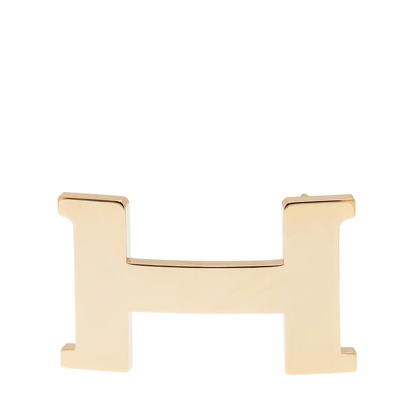 VIP STATION-全新 HERMES 愛馬仕 皮帶扣 38MM 金色 金屬 (皮帶扣須連皮帶購買)