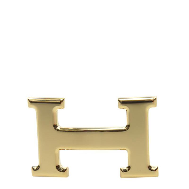VIP STATION-全新 HERMES 皮帶扣 金屬 金色普通扣 (皮帶扣須連皮帶購買)