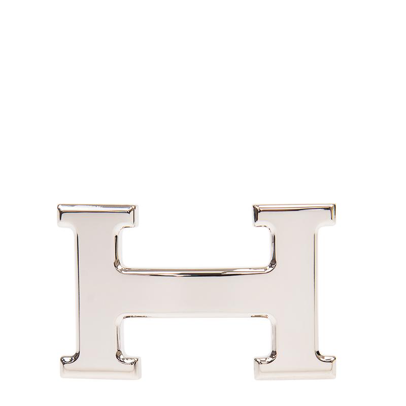 VIP STATION-全新 HERMES 愛馬仕 皮帶扣 銀色 金屬  (皮帶扣須連皮帶購買)