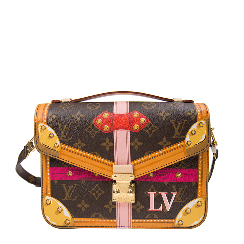 VIP STATION-全新 LOUIS VUITTON 路易威登 手袋 M43628 皮革 啡色