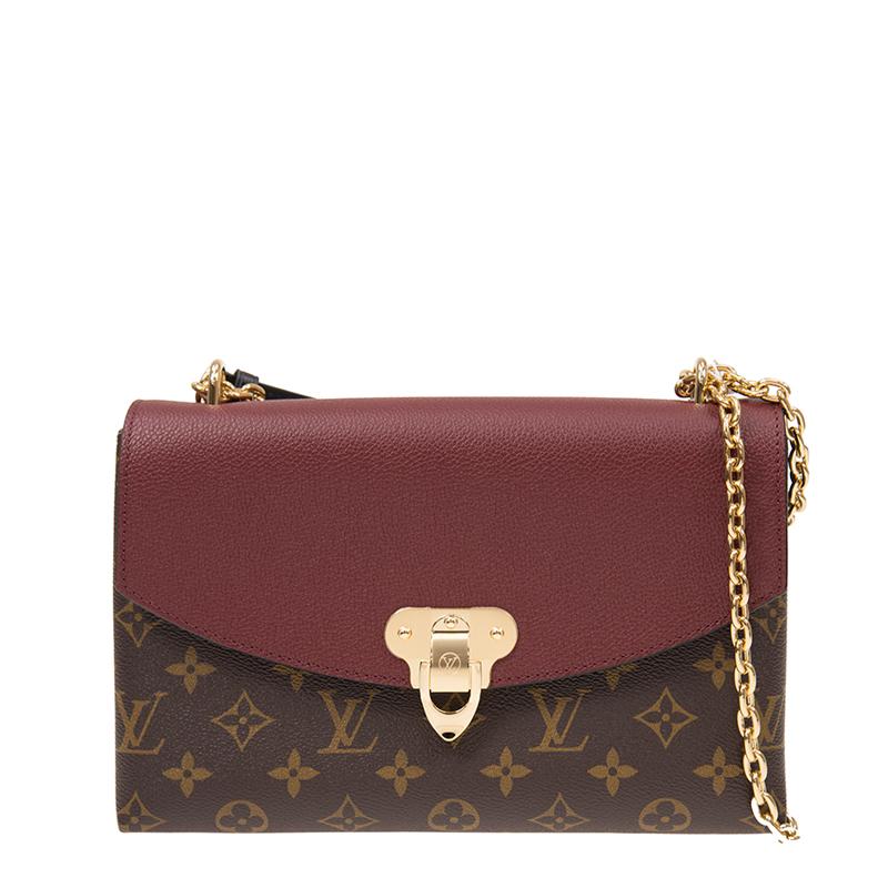 VIP STATION-全新 LOUIS VUITTON 路易威登 手袋 SAINT PLACIDE M43715 皮革 紅色