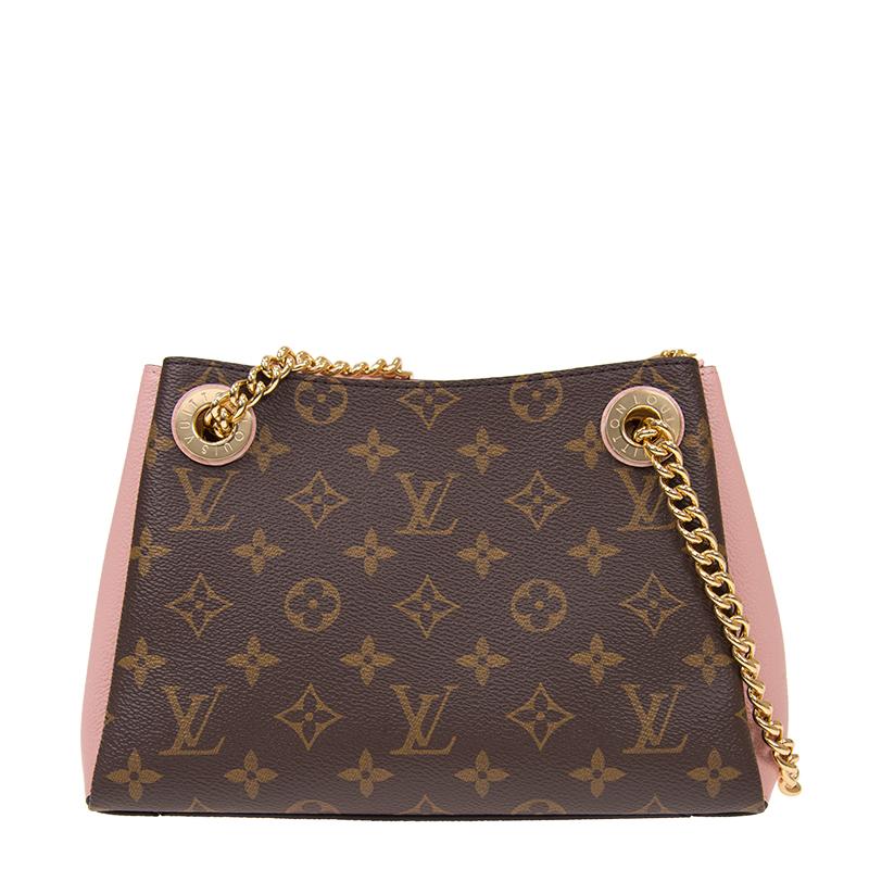 VIP STATION-全新 LOUIS VUITTON 路易威登 手袋 SURENE BB M43777 牛皮 粉紅色/啡色