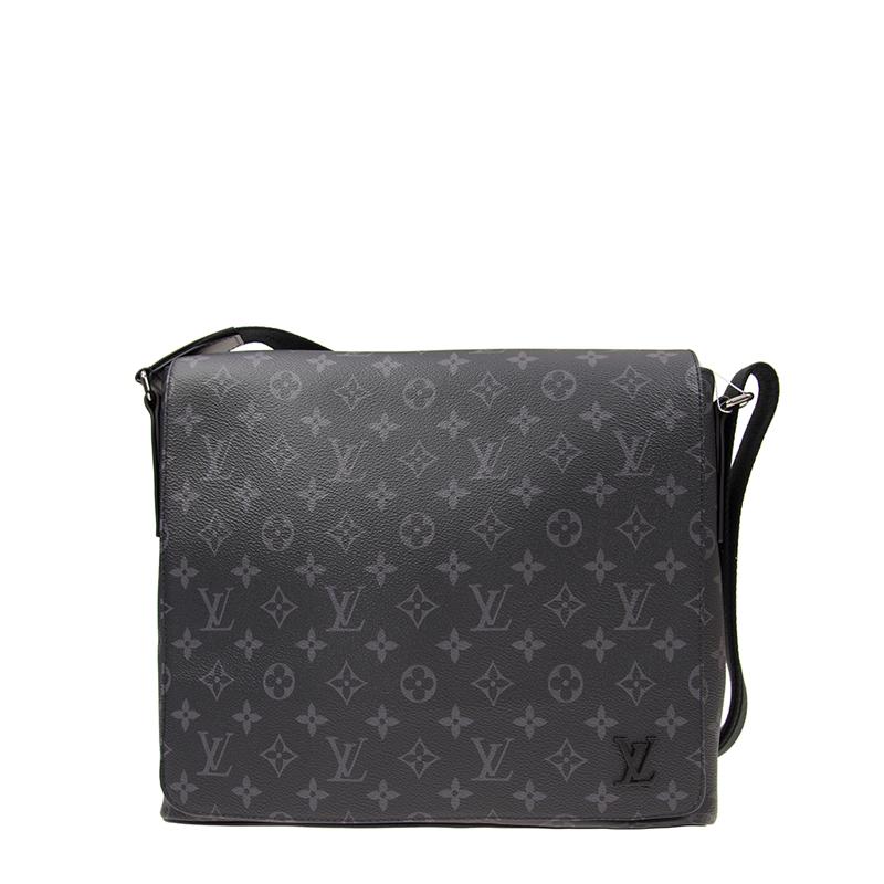 VIP STATION-全新 LOUIS VUITTON 路易威登 手袋 DISTRICT M44001 皮革 灰色