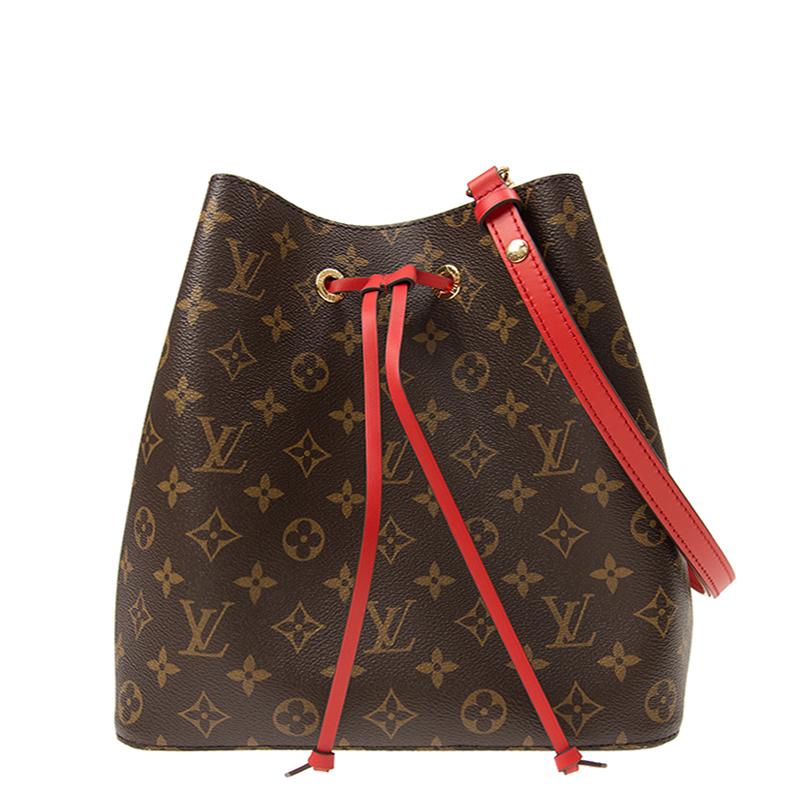 VIP STATION-全新 LOUIS VUITTON 路易威登 手袋 M44021 皮革 紅色/啡色