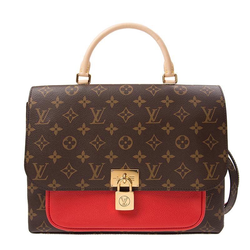 VIP STATION-全新 LOUIS VUITTON 路易威登 手袋 M44286 皮革 紅色