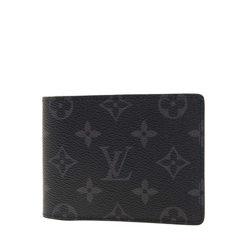 VIP STATION-全新 LOUIS VUITTON 路易威登 短身折疊款銀包 M61695 皮革 灰色