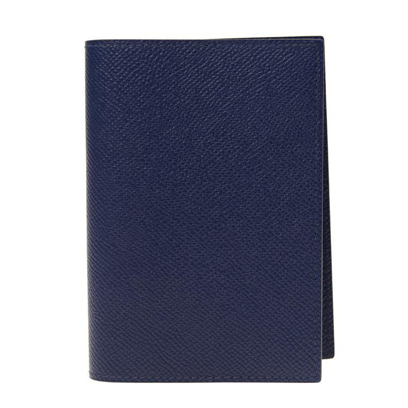 VIP STATION-全新 HERMES 証件套 MC2 MAGELLAN 73 深藍色  EPSOM