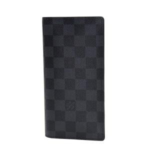 huge selection of 6ba1d 320f1 全新 LOUIS VUITTON 路易威登 長身折疊款銀包 N62227 皮革 黑色