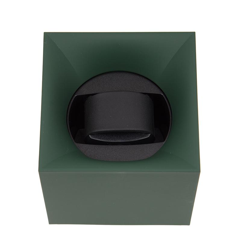 VIP STATION-全新 KUBIK 錶盒 SK01.STB.002 膠 綠色