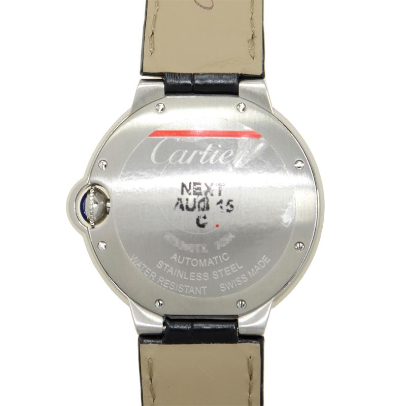 Cartier カルティエ バロンブルー ステンレス シルバー 自動巻き W69017Z4 [取り寄せ/新品]