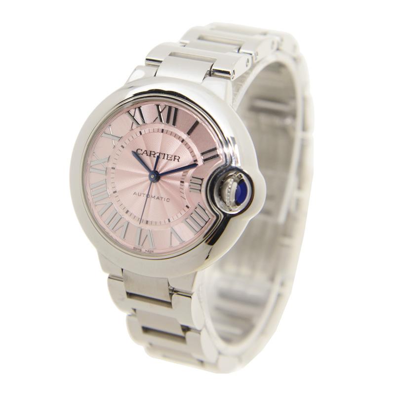 Cartier カルティエ バロン ブルー 33 ピンク W6920100 [取り寄せ/新品]