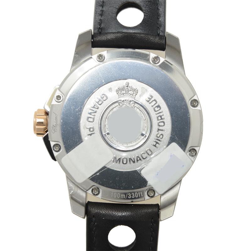 CHOPARD ショパール G.P.M.H. POWER CONTROL 18Kローズゴールド グレー 自動巻き 168569-9001 [新品]