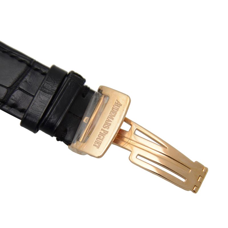 [未使用品]  オーデマピゲ ミレネリー 18Kローズゴールド ブラック 自動巻き 15331OR.OO.D002CR.01AUDEMARS PIGUET