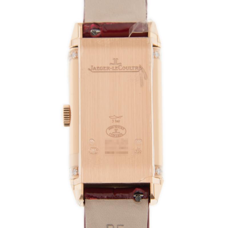 [未使用品] ジャガールクルト レベルソ 18K ローズゴールド 手巻き Q3352420