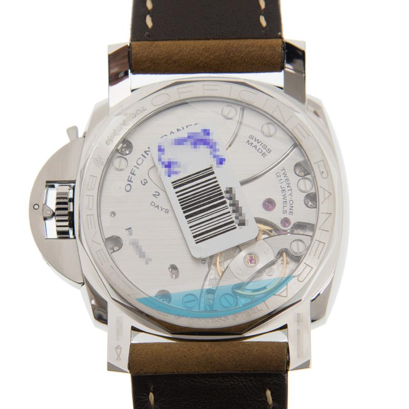 premium selection 9aeb3 c354e [取り寄せ/新品] PANERAI パネライ PAM00422 ルミノール ステンレス ブラック 手巻き