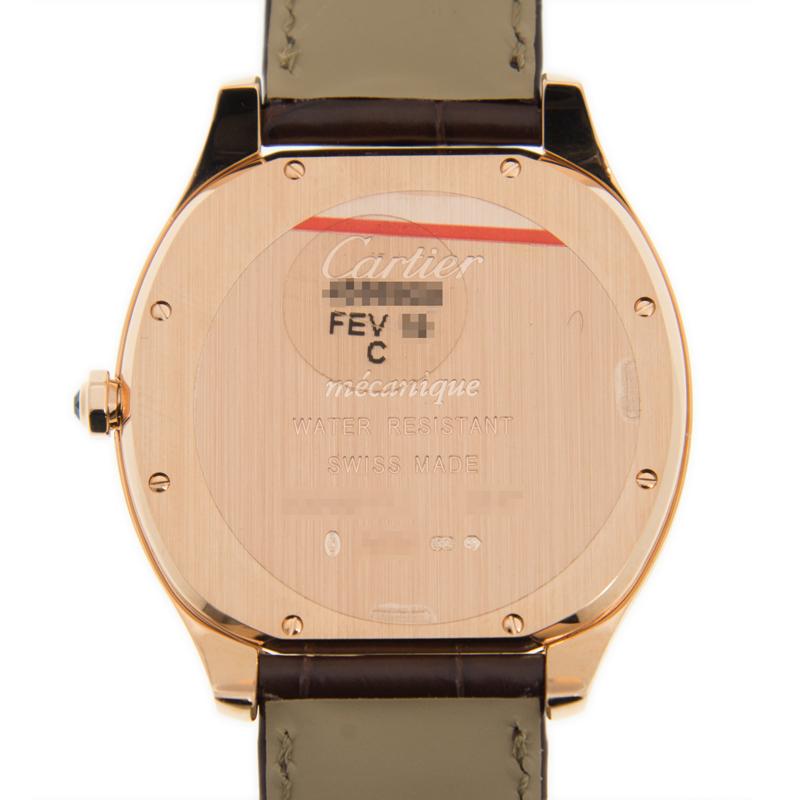 [未使用品] Cartier カルティエ ドライブ ドゥ カルティエ WGNM0006